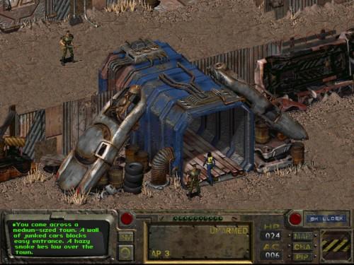 Прохождение игры Fallout 1